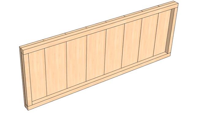 Передняя стенка ящика