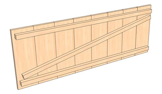 Крышка ящика